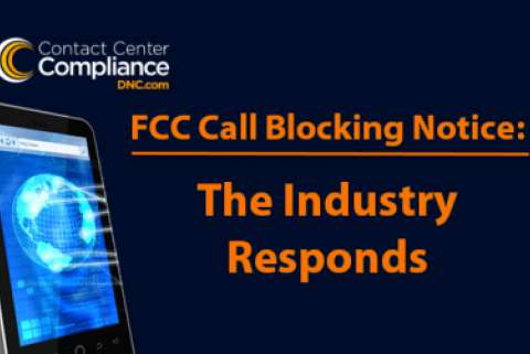 FCC Call Blocking Response From Telemarketing Industry