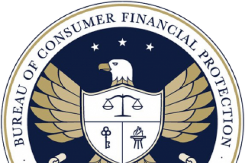 The official seal of the Consumer Financial Protection Bureau