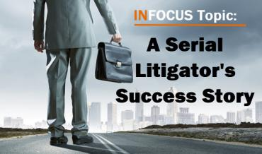 80 Lawsuits – A Serial Litigator's Success Story