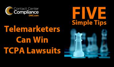 Five Simple Tips For Telemarketers To Win Lawsuits