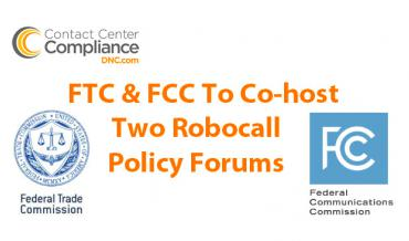 FTC & FCC Robocall Forums Announced