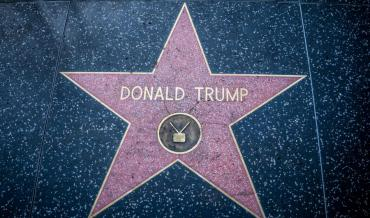 Donald Trump's Star on the Hollywood