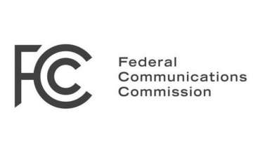 The logo of the Federal Communications Commission