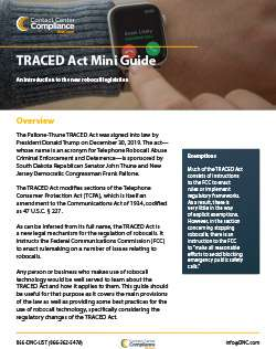 TRACED Act Mini Guide